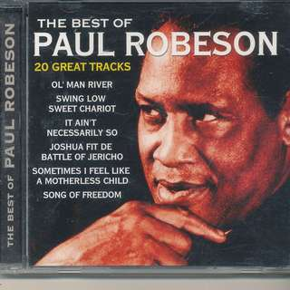 Best of Paul Robeson (AUDIO CD) MADE IN EU [y1]