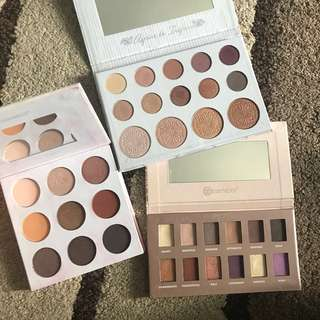 EYE SHADOW PALETTES TO LET GO