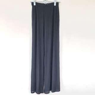 Tadashi Black Stretch Waist Palazzo Pants