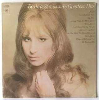 Barbra Streisand – Barbra Streisand's Greatest Hits (1970 USA Pressing - Vinyl is Excellent)