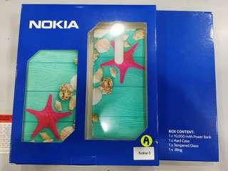 Power Bank Nokia + Free Nk5 TGlass + Hard Case+ iRing