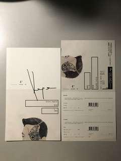 林宥嘉《大小說家》簽名卡連預購單