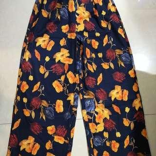 Korean fashion silk culottes pants ala H&M