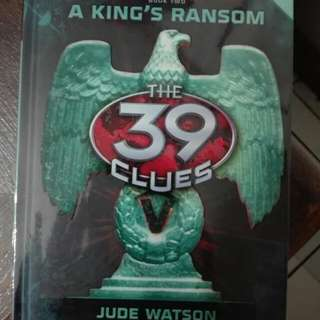 39 Clues - A King's Ransom (Cards Included)
