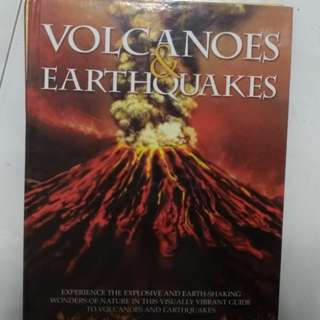 Science books for children - Human Body, Volcanoes and Earthquakes