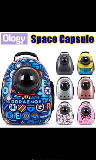 Pet Space Capsule Bag / Carrier For Cats Or Puppy