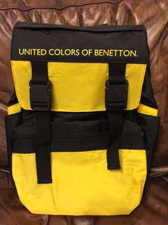 📍未用過📍United Colors of Beneton 實用背包/書包