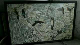 Lukisan Bali Lama Besar