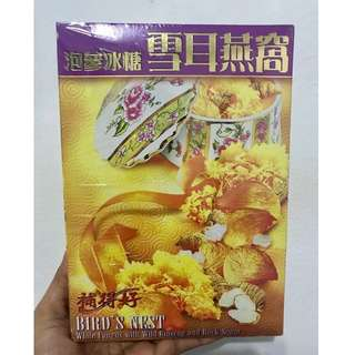 Bird's Nest White Fungus with Wild Ginseng and Rock Sugar