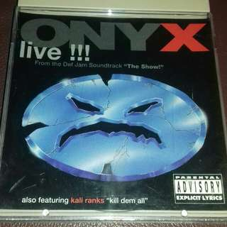 Onyx Live rare CD single from The Show soundtrack with Kill dem all featured kali ranks 1995
