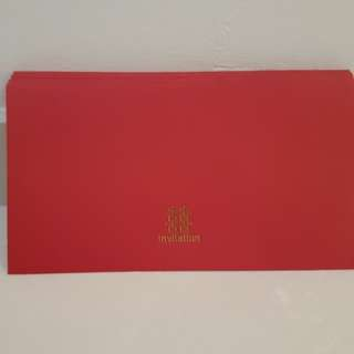Wedding red envelop - 25 pieces