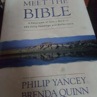 Philip Yancey Daily Devotional - a Panaromic view of the bible