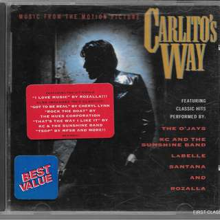 MY PRELOVED CD -CARLOTO'S WAY - MUSIC FROM MOTION PICTURE /FREE DELIVERY (F7S)