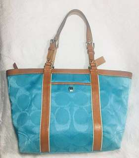 For Auction: Authentic Coach Tote Bag (please read full description for auction mechanics and product condition)