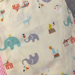 Baby cot mattress cover