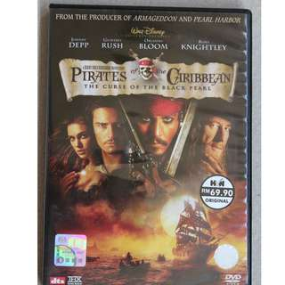DVD : Pirates of the Caribbean