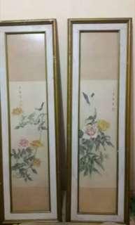Lukisan Kertas Cina Tua