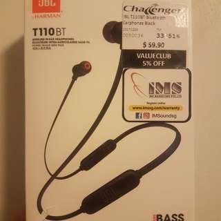 JBL T110BT Bluetooth Earphones