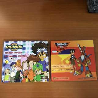 Full Set Digimon Anime (Vol 1 & 2)