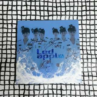 [Signed] LEDApple Run To You album