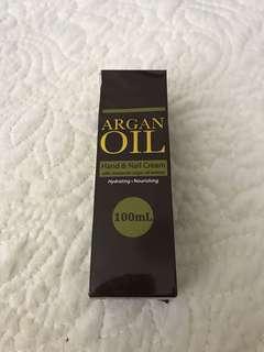 BNIB! URGENT SALE! ARGAN OIL HAND AND NAIL CREAM!