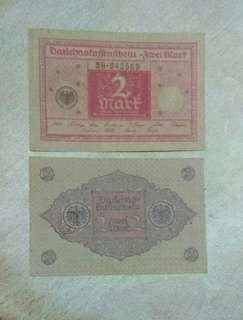 Germany 2 mark 1920