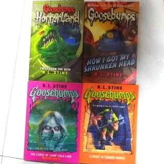 Goosebumps Series 5 books