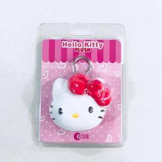 Brand New Ez-link Limited Edition Hello Kitty Plush Charm (Ezlink mrt/bus card!)