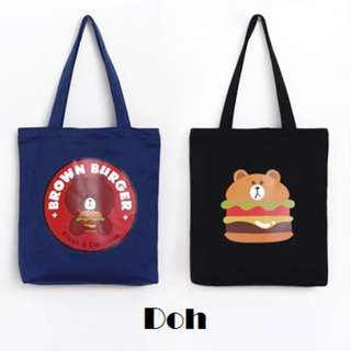 Doh Canvas Tote Bag.