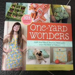 101 sewing projects: one-yard wonders