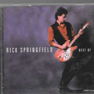 MY PRELOVED CD -BEST OF RICK SPRINGFIELD  /FREE DELIVERY (F7S)