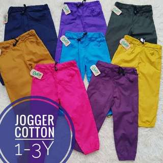 Cotton Jogger - stretchable