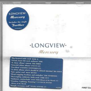 MY PRELOVED CD -LONGVIEW MERCURY  /FREE DELIVERY (F7S))