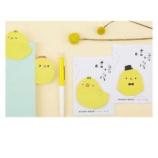 < preorder > little chick post it sticky note