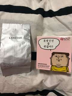 Laneige BB Cushion refill / SNP Moisture Cushion