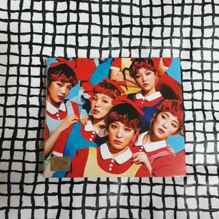 Red Velvet The Red album