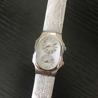 Authentic Philip Stein Mother of Pearl Small