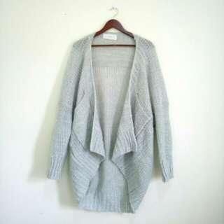 Kodz 粗針織外套(灰)