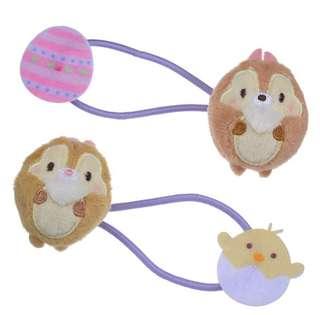 🇯🇵日本代購 迪士尼 Disney chip n dale 大鼻與鋼牙 橡筋 頭飾