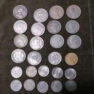 泰國硬幣26個