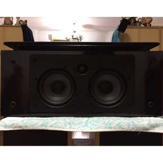 NHT VS-2 Piano Gloss Finished High Class Center Channel Speaker, Made in U.S.A (8 Ohms, 150Watts)