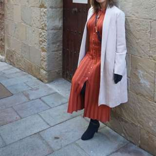 Zara Suede Coat