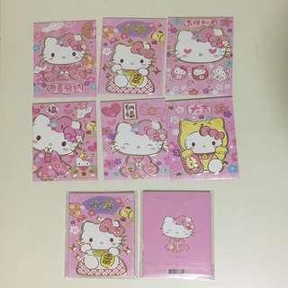 Cute Ang Pow - (3 packs) Hello Kitty design
