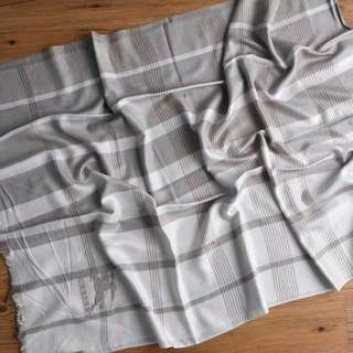 Burberry Pure  Cashmere Scarf Grey