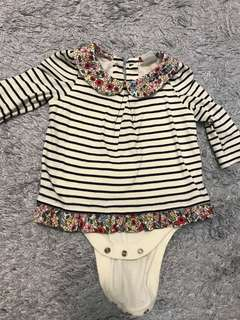 Baby Gap Girl Romper