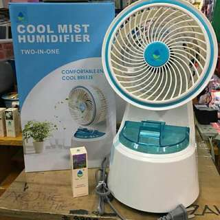 Cool Mist Humidifier 2in1