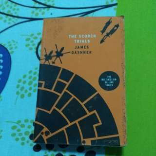 The Scorch Trials book