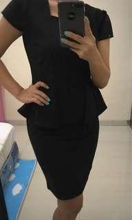 Dress syahrini Black