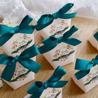 Wedding favour/ Berkat/ Candy Box