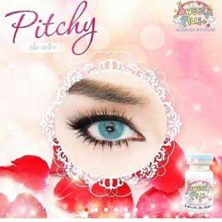 Pitchy softlens blue